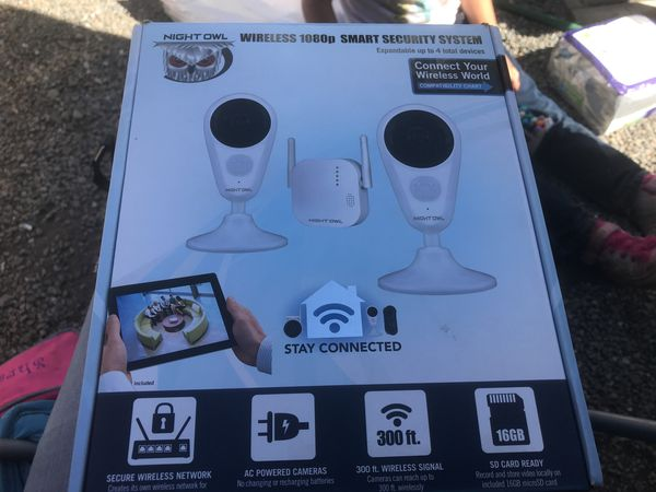 Night Owl wireless security system for Sale in San Jose, CA - OfferUp
