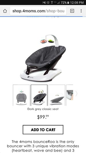 Mamaroo bounceroo with insert for sale  Tulsa, OK