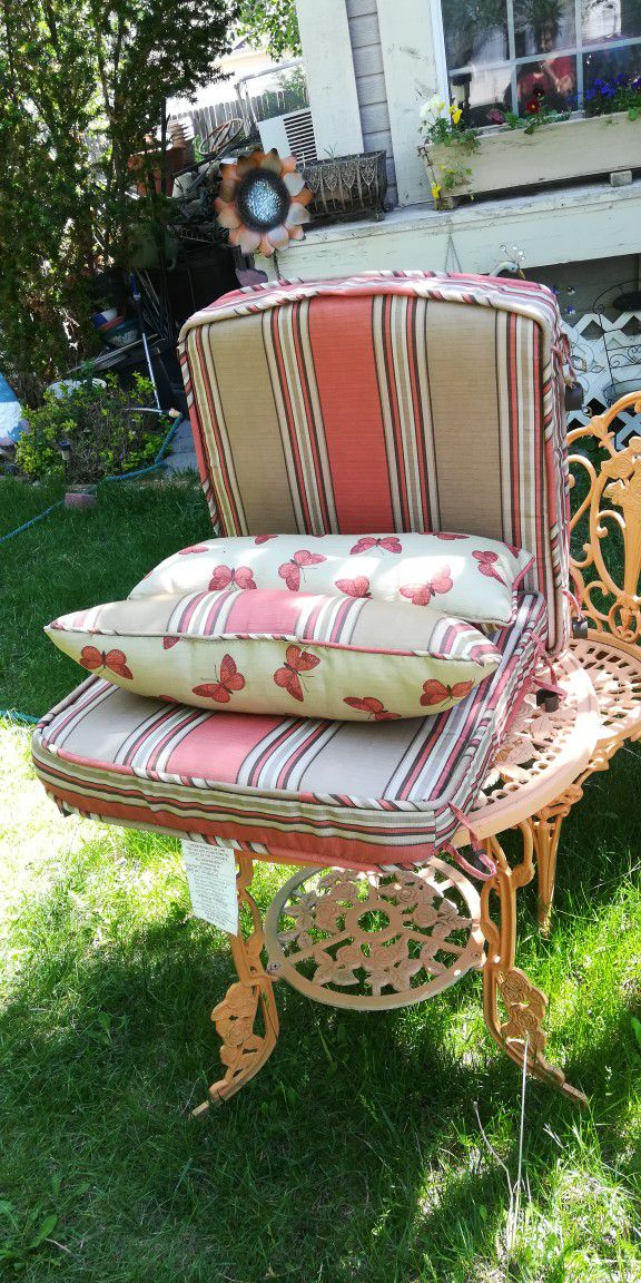 Lawn Chair Cushion / Have Three Sets, $30 Each Set
