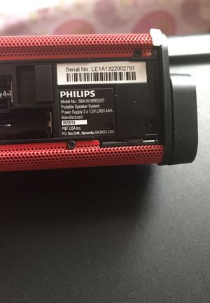 philips portable speaker for iPods smartphones,media players for Sale in Columbus, OH