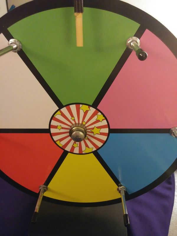 Spinning Prize Wheel Dry Erase, Tabletop 12 inch for Sale in Cincinnati, OH  - OfferUp