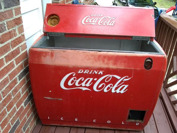 1950 Westinghouse Coca-Cola/Coke Ice Chest for Sale in Durham, NC - OfferUp