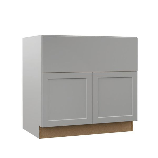 MELVERN ASSEMBLED 36X34.5X23.75 IN. FARMHOUSE APRON-FRONT ...