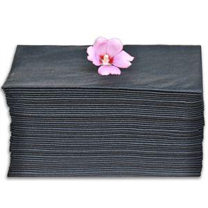 "PREMIUM Black Large Disposable Towels, size 31.5"" x 15.75"" (80cm x 40cm), 50 towels for Sale in Derwood, MD"