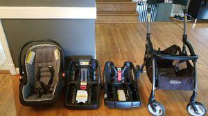 Graco Snugride Snuglock, 2 bases, stroller for Sale in Alexandria, VA