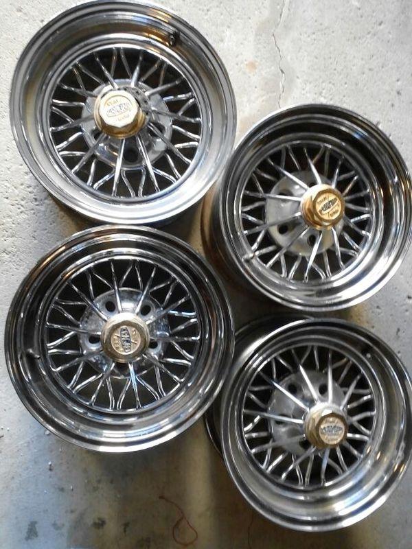 Rims Cragar Tru Spoke 30 Spoke Wire Wheel For Sale In Chicago Il Offerup