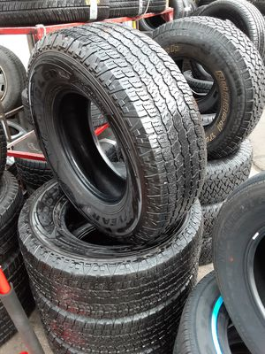Photo Semi new tires set Goodyear's 265 70 16