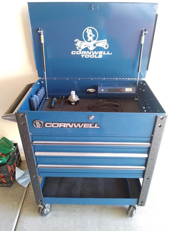 Cornwell Tool Cart With Cornwell And Other Name Brand Tools For Sale In Goodyear Az Offerup