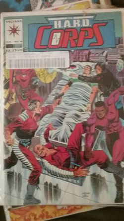 The H.A.R.D CORPS #19 Comic Book /Graded NR Mint Thumbnail