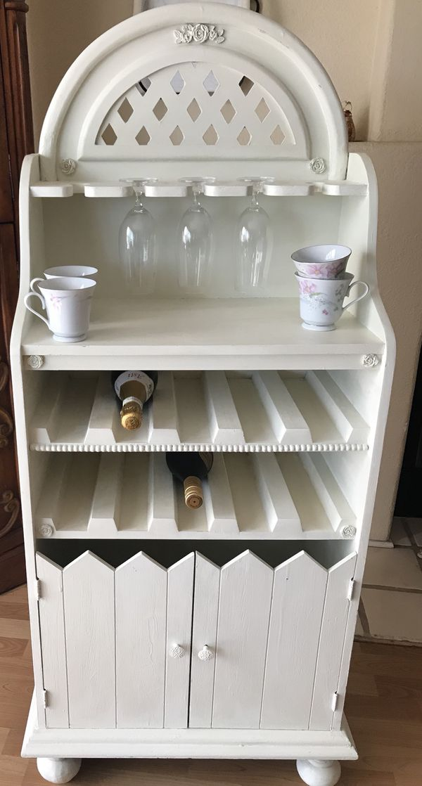 Mobile Bar Shabby Chic.Shabby Chic French Country Bar Hutch For Sale In San Marcos Ca