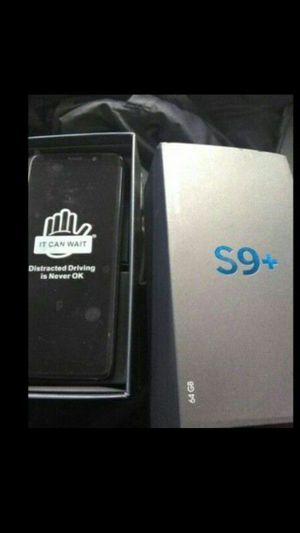 Samsung Galaxy S9+ Brand New Unlocked Original Carrier At&t for Sale in Oxon Hill, MD