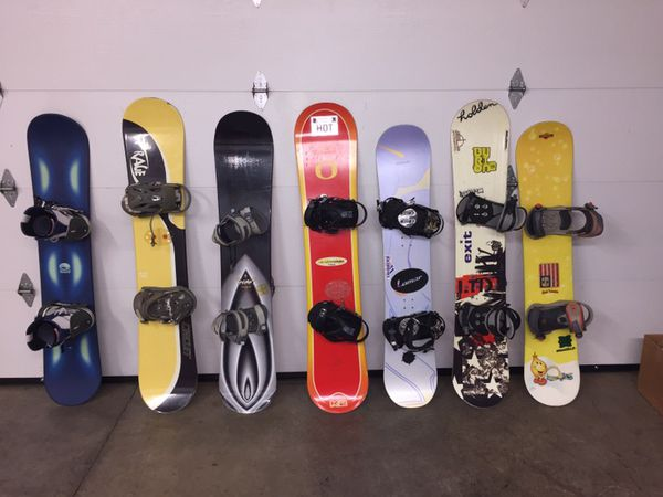 5fa64bfab45 Snowboard lot snowboards for Sale in Salem