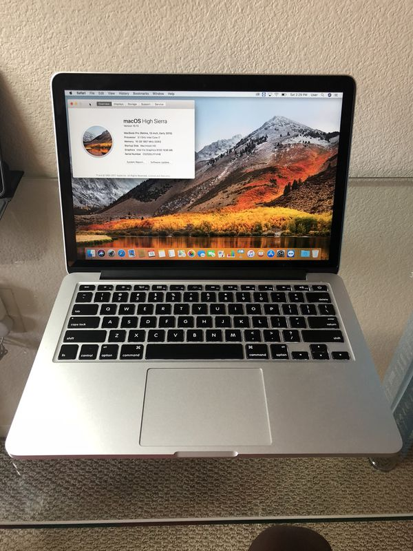 Apple MacBook Pro (Retina, 13-inch, Early 2015) 3 1 GHz intel i7, 16GB RAM,  500GB SSD, Iris Graphics for Sale in Santa Clara, CA - OfferUp