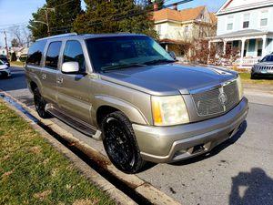 2003 Cadillac Escalade ESV AWD for Sale in Hyattsville, MD