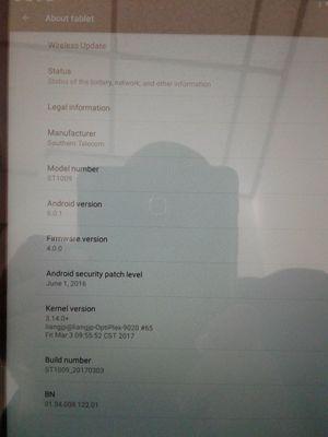 Smartab ST1009 Tablet - Wi-Fi - 32 GB - Black - 10 1 for Sale in Bellevue,  WA - OfferUp