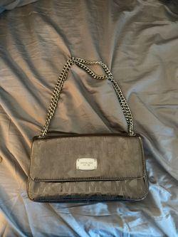 Beautiful Michael Kors silver handbag Thumbnail