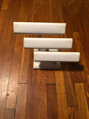 3 level Bracelet stand white good condition for Sale in Washington, DC