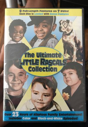 The 7 disc little rascal collection for Sale in Alexandria, VA