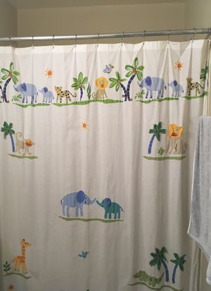 Kids bathroom shower curtain for Sale in Herndon, VA