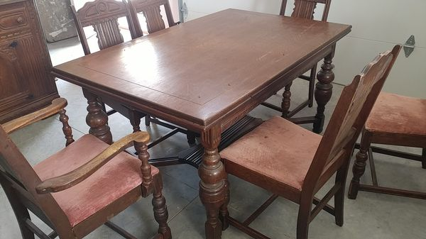 Antique dining table and chairs Antiques in Eaton Rapids MI OfferUp