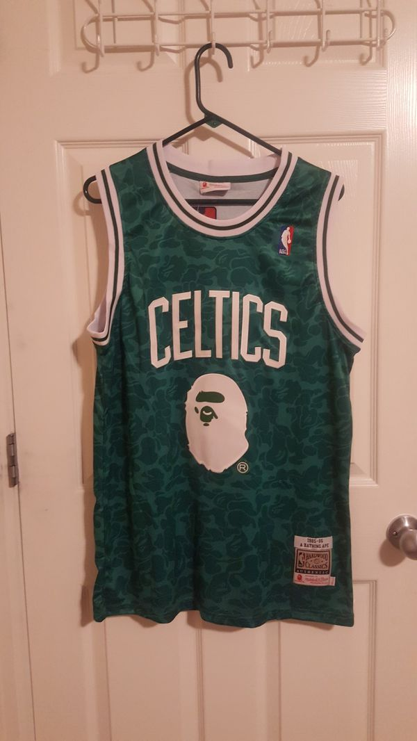 new arrival b0201 e90b3 Celtics Bape Jersey L(44) for Sale in Thornton, CO - OfferUp