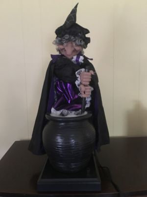 GEMMY vintage Halloween witch for Sale in Frederick, MD
