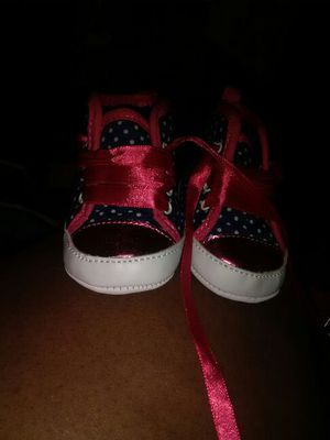 Baby girl shoes size 1c or 2c for Sale in Philadelphia, PA