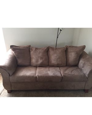 Tan Large Couch! for Sale in Richmond, VA