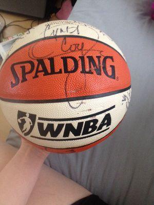 Official WNBA Phoenix Mercury autograph game ball for Sale in Scottsdale, AZ
