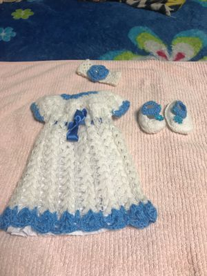 baby dress 0 to 3 months new for Sale in Nashville, TN