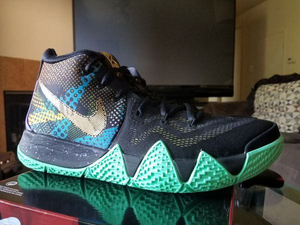 """san francisco f8784 9b3cb Nike Kyrie 4 """"Mamba Mentality"""" Size: 12.5 Brand new $115 for Sale in  Fresno, CA - OfferUp"""