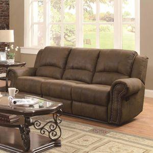 Sir Rawlinson Traditional Reclining Sofa with Nailhead Studs for Sale in Atlanta, GA