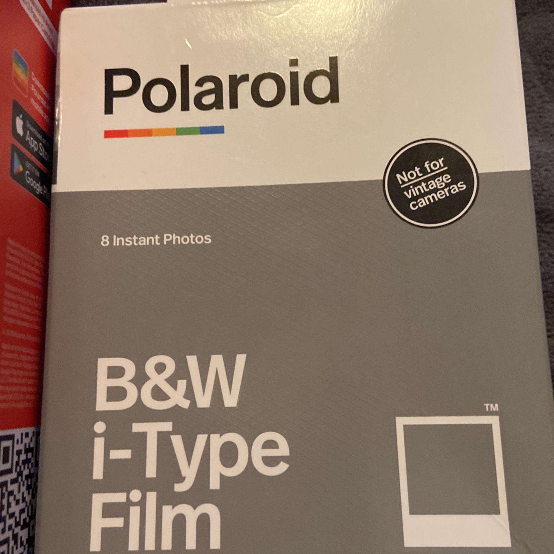 Polaroid hi print pockpaper cartridge and I type film brand new inboxes