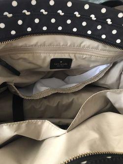 KATE SPADE diaper bag with changing pad Thumbnail