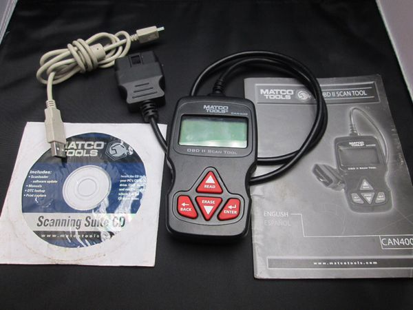 MATCO TOOLS CAN400 OBD2 scanning tool for Sale in Roselle, IL - OfferUp