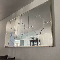Z Gallery Champagne Beveled Mirror Thumbnail