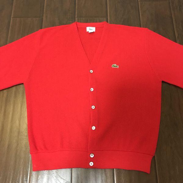 e18d7abbaca7a Vintage Izod/Lacoste Cardigan Mens Large for Sale in Union City, CA -  OfferUp