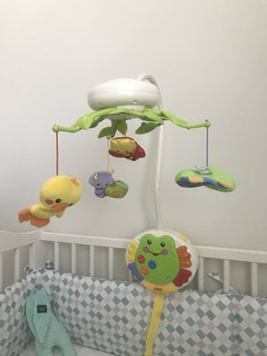 Fisher Price Smart Response crib mobile for Sale in Bethesda, MD