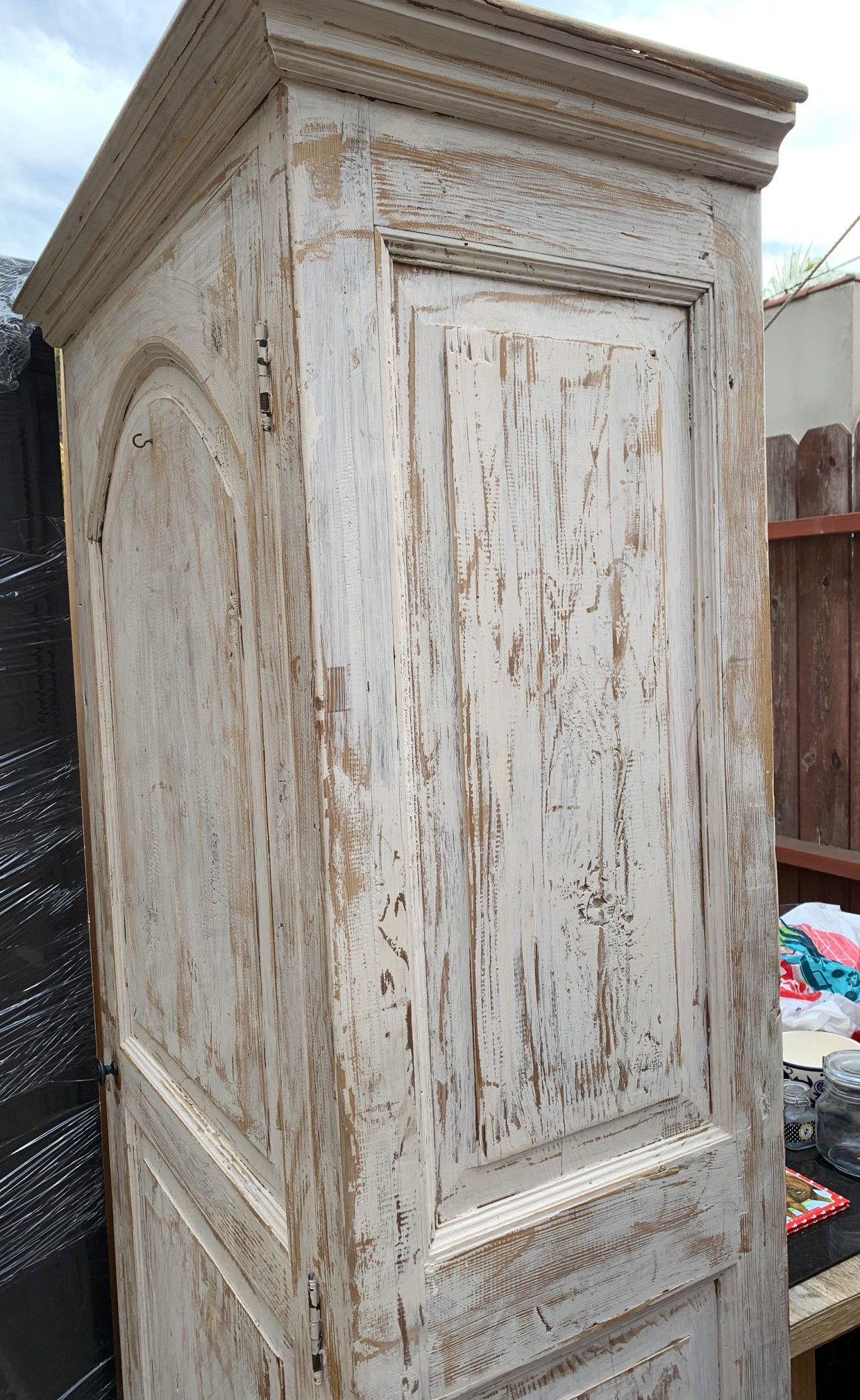 Antique Armoire Victorian Style