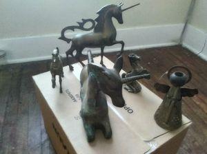 Brass angel for Sale in Detroit, MI