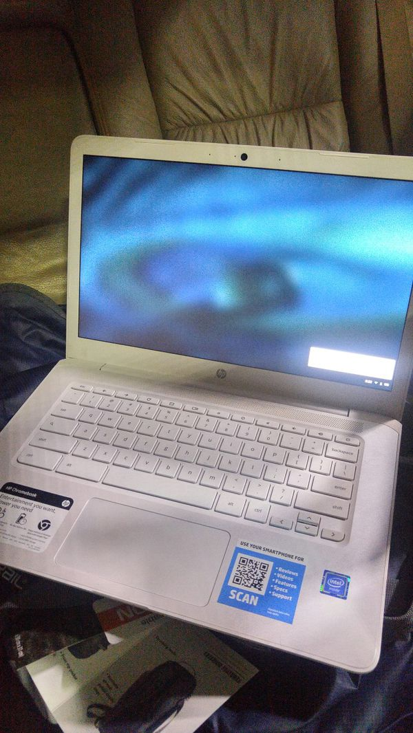 HP Chromebook 14  WHITE *BRAND NEW* for Sale in Redding, CA - OfferUp