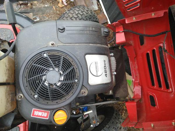 Huskee lt 4200 lawnmower for Sale in Lowell, MA - OfferUp