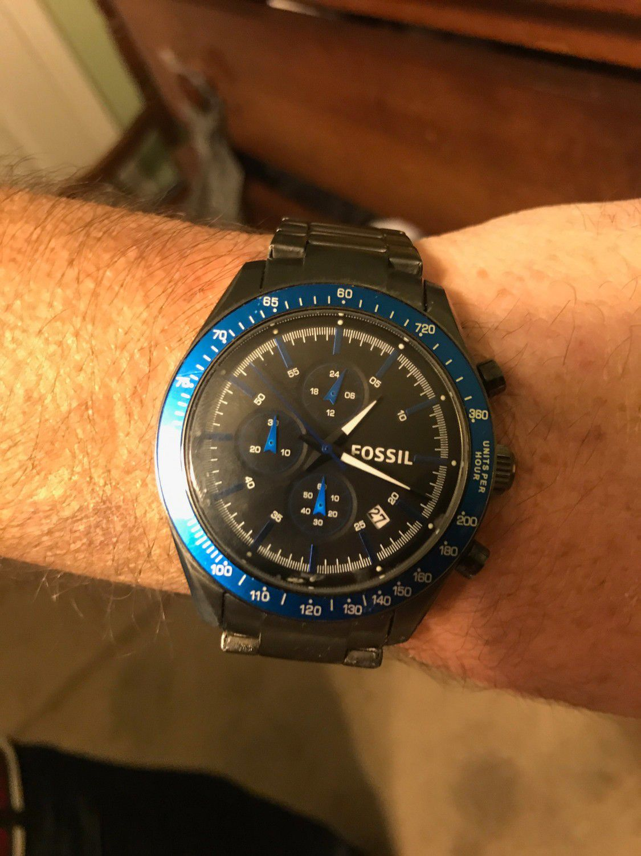 Fossil watch bq2118