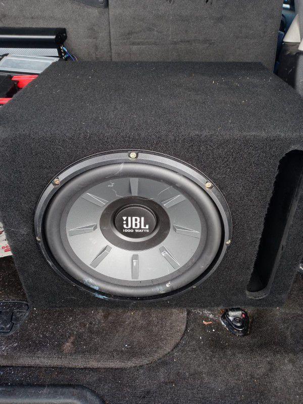 JBL Speakers. Box