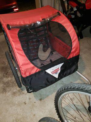 Photo Huffy Disney's Cars double bike trailer