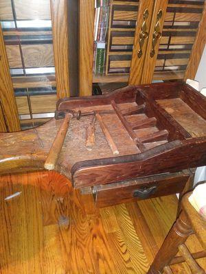 Antique cobblers bench for Sale in Lillington, NC