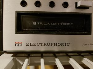 Electrophonic- Multiplex Stereo Receiver with 8 Track for Sale in Brooklyn, NY