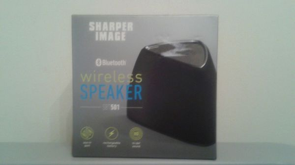 Sharper Image Bluetooth Wireless Speaker Sbt 501 For Sale In