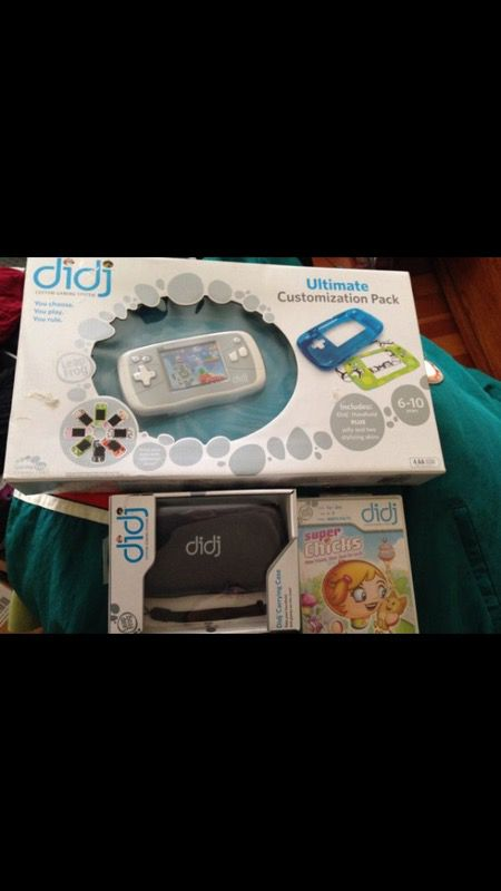 New Didj learning system