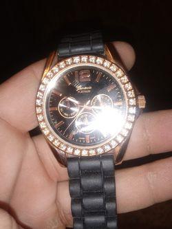 Geneva Platinum watch NO 7846 Thumbnail